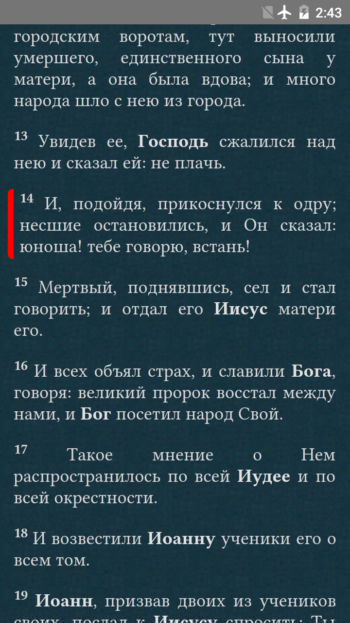 Bible in Russian screenshot #3