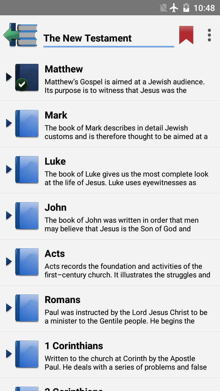Pear Bible BBE screenshot #1
